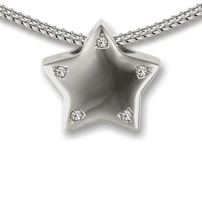 Star Pendant - Ashes Cremated Remains