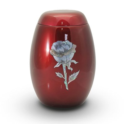 Pearl Red Keepsake Urn