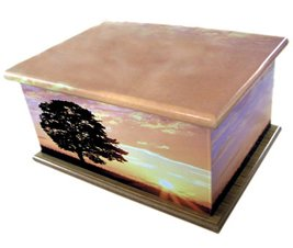 Sunset Personalised Keepsake Urn